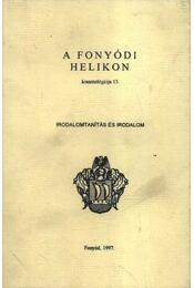 Irodalomtanítás és irodalom - Régikönyvek