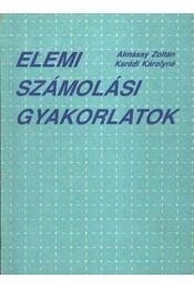 Elemi számolási gyakorlatok - Régikönyvek
