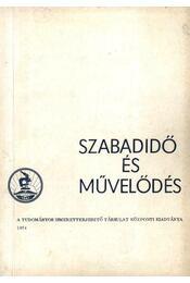 Szabadidő és művelődés - Régikönyvek