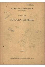 Fotográfiai kémia - Régikönyvek