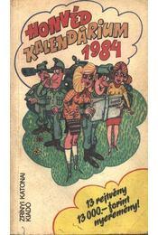 Honvéd kalendárium 1984 - Régikönyvek