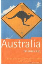 Australia - The rough guide (angol-nyelvű) - Régikönyvek
