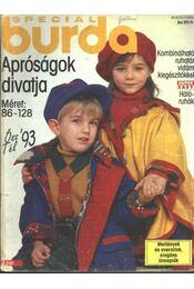 Burda '93 ősz tél - Régikönyvek