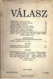 Válasz 1947/május - Régikönyvek