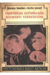 Csonthéjas gyümölcsök házikerti termesztése - Régikönyvek