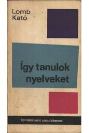 Így tanulok nyelveket - Régikönyvek