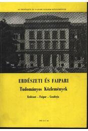 Erdészeti és faipari Tudományos közlemények 1982. év 1. sz. - Régikönyvek