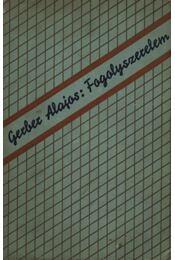 Fogolyszerelem (dedikált) - Régikönyvek