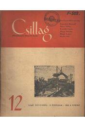 Csillag 12. 1948 november II.évfolyam - Régikönyvek