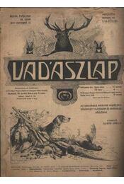 Vadászlap 1917. október 15. - Régikönyvek