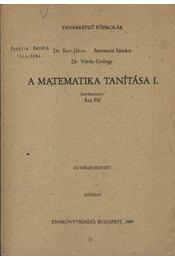 A matematika tanítása I. - Régikönyvek