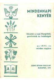 Mindennapi kenyér - Régikönyvek