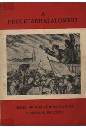 A proletárhatalomért - Régikönyvek
