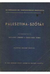 Palesztina-szótár - Régikönyvek