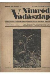 Nimród Vadászlap 1947. nov. 15. - Régikönyvek