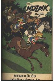Menekülés tűzön -vízen át (Mozaik 1975-4) - Régikönyvek