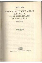 Gróf Benyovszky Móricz életrajza, saját emlékiratai és útleírásai - Régikönyvek
