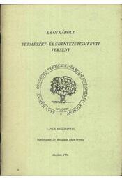 Kaán Károly Természet- és Környzetismereti verseny - Régikönyvek