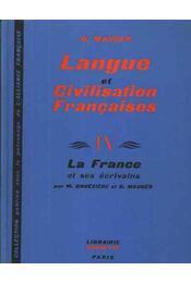 Langue et Civilisation Francaises IV - Régikönyvek