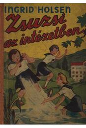 Zsuzsi az intézetben - Régikönyvek