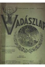Vadászlap 1916. június 5. - Régikönyvek