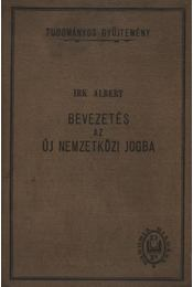 Bevezetés az új nemzetközi jogba - Régikönyvek