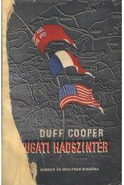 A nyugati hadszíntér - Régikönyvek