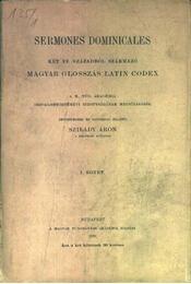 atirni - Sermones dominicales I-II. - Régikönyvek
