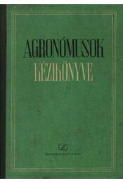 Agronómusok kézikönyve - Régikönyvek