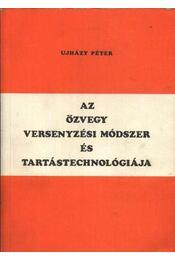 Az özvegy versenyzési módszer és tartástechnológiája - Régikönyvek
