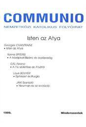 Communio 1999. Mindenszentek - Régikönyvek