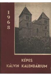 Képes Kálvin kalendárium az 1968. évre - Régikönyvek