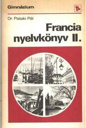 Francia nyelvkönyv a gimnáziumok II. osztálya számára - Régikönyvek
