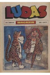 Ludas Magazin 1991. február - Régikönyvek