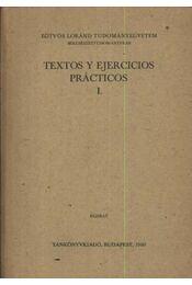 Textos y ejercicios practicos I. kötet - Régikönyvek