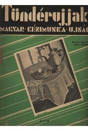 Tündérujjak 1933. június IX. évf. 6. (98.) szám - Régikönyvek
