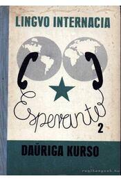 Esperanto 2 Lingvo Internacia Dauriga Kurso - Régikönyvek