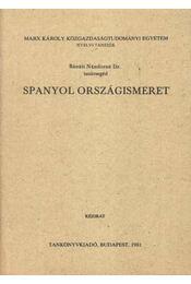 Spanyol országismeret - Régikönyvek