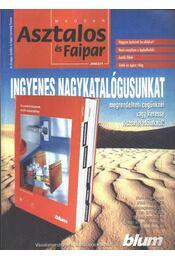 Magyar Asztalos és Faipar 2002/1. - Régikönyvek