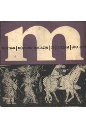 Múzsák Múzeumi Magazin 1972. évf. (hiányos) - Régikönyvek
