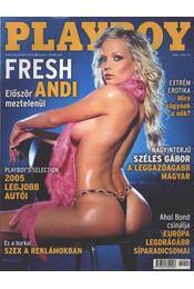 Playboy 2005. február - Régikönyvek