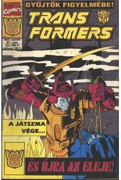 Transformers 1995/5. szeptember 27. szám - Régikönyvek