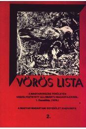 Vörös lista a Magyarország területén veszélyeztetett állományú madárfajokról 2 . - Régikönyvek