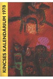 Kincses Kalendárium 1978 - Régikönyvek