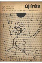 Új Írás 1975/5. szám - Régikönyvek