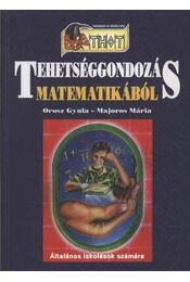 Tehetséggondozás matematikából - Régikönyvek