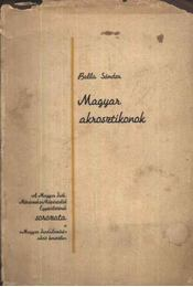 Magyar akrosztikonok (dedikált, számozott) - Régikönyvek