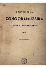 Zongoramuzsika I. füzet - Régikönyvek
