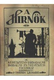 A Hirnök 1925/15-16. sz. - Régikönyvek