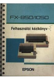 Epson FX-8501050 felhasználói kézikönyv - Régikönyvek